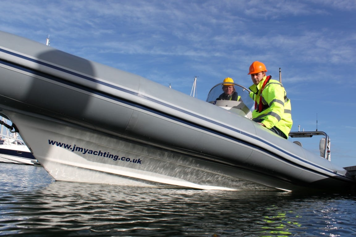 Rib hire safety boat
